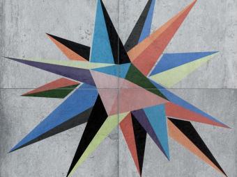 D Tempelhof Stern 4 db-os dekor
