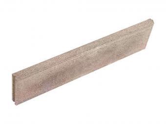 Kerti szegély barna melír 100*5*20 cm