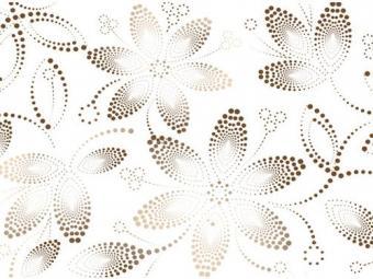 Noa - Crema Flowers