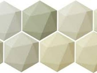 Origami Hex Green