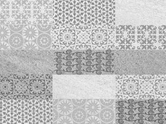 Rebecca - Grey Mosaic
